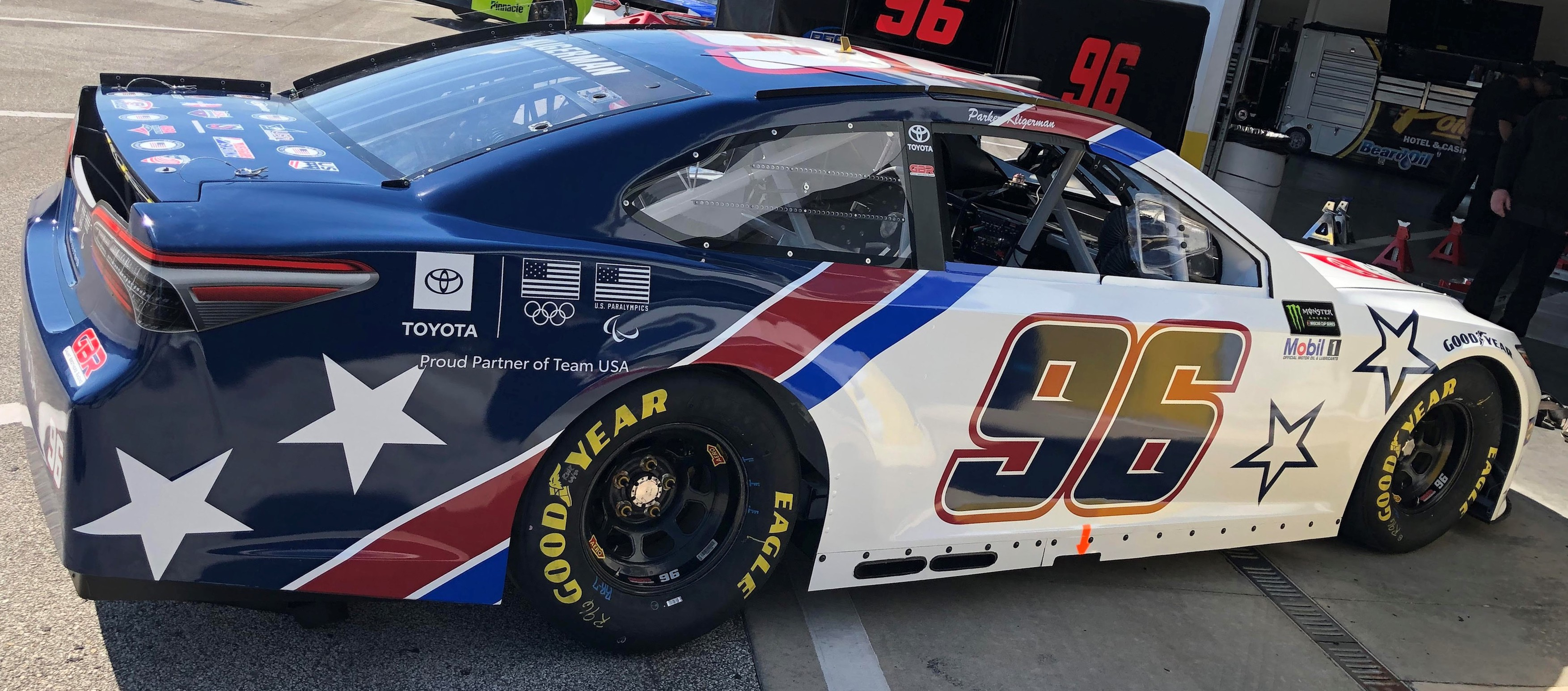Toyota Of Plano >> Toyota Highlights Team USA Partnership in NASCAR - Gaunt Brothers Racing