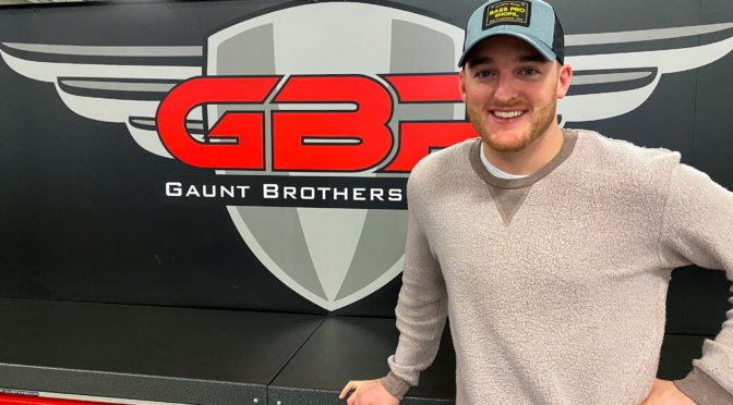 Gaunt Brothers Racing Tabs Ty Dillon for Daytona 500