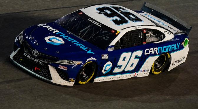 Landon Cassill Finishes 37th at Daytona